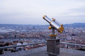 Point de vue sur Marseille depuis Notre Dame de la Garde