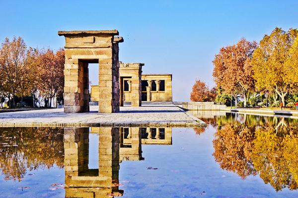 Temple de Debod Égypte antique