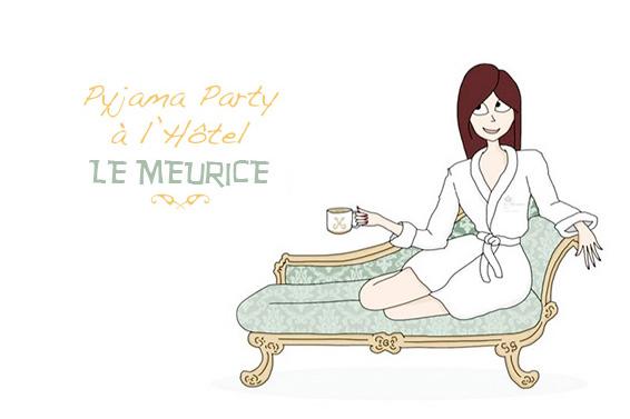 Pyjama Party Hôtel Meurice Paris