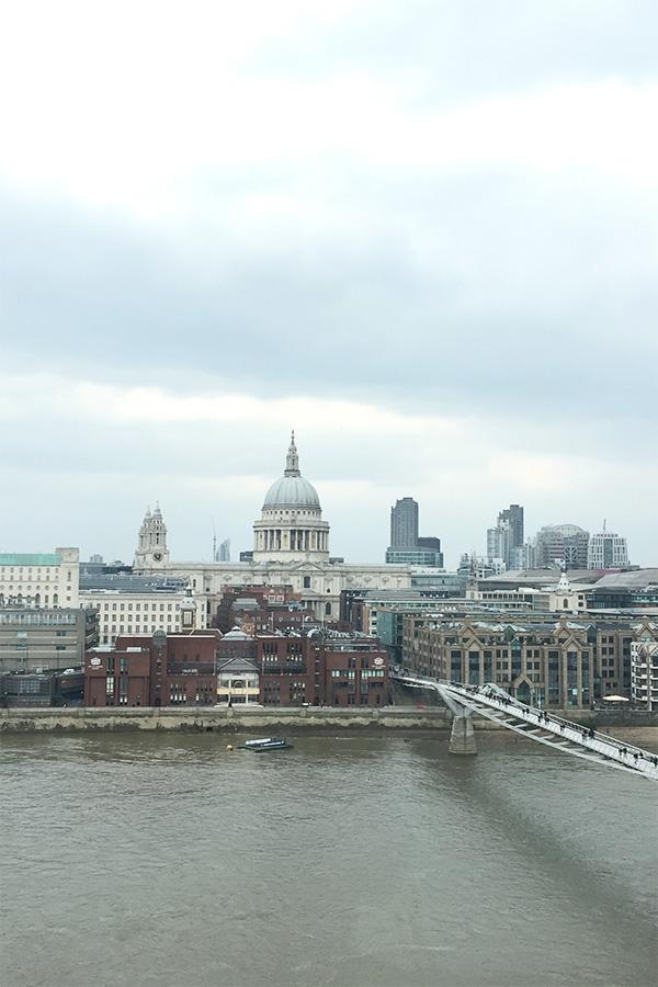 Vue depuis Tate Modern sur St Paul's
