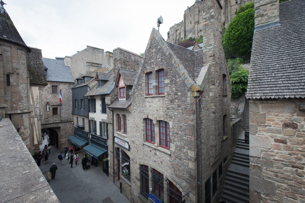 Village du Mont Saint-Michel Normandie