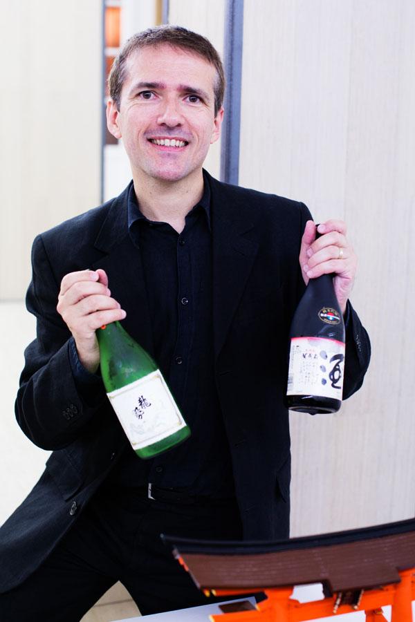 Sylvain Huet Salon du Saké 2015