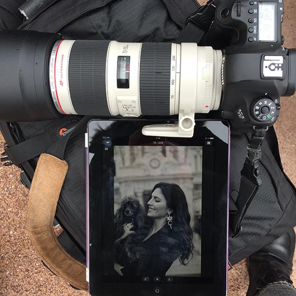 Canon 6D wifi intégré
