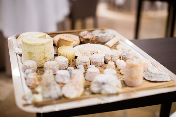 Fromages restaurant gastronomique Hostellerie de Levernois
