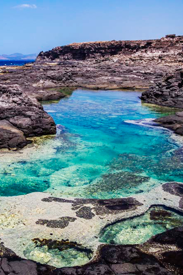 Iles Canaries / Lanzarote - Los Charcones