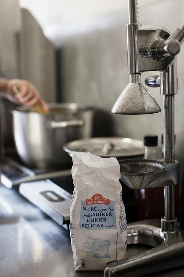 Alchimiste - Faire chauffer le jus avec du sucre
