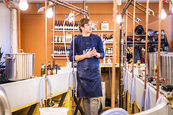 Atelier fabrication de bière
