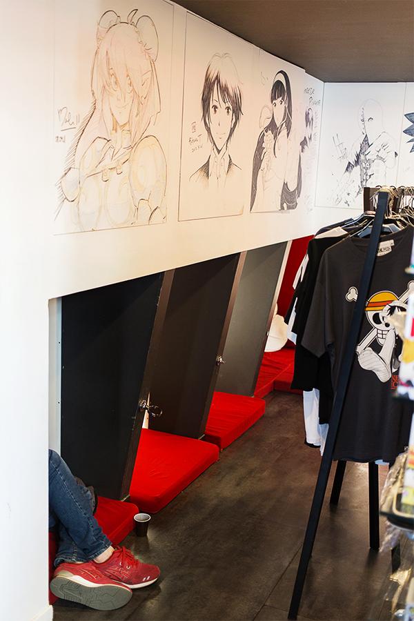 Manga Café V2 à Paris 13