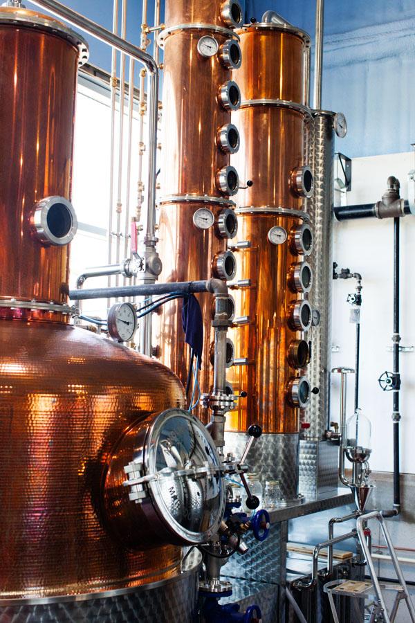 Distillerie Steinhart à Arisaig en Nouvelle-Ecosse