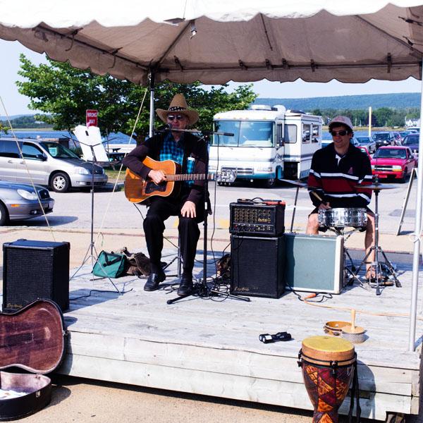 Marché de producteurs locaux à Annapolis Royal