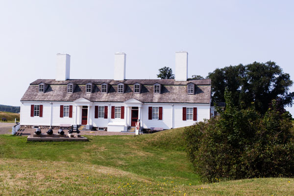 Fort Saint Anne à Annapolis Royal