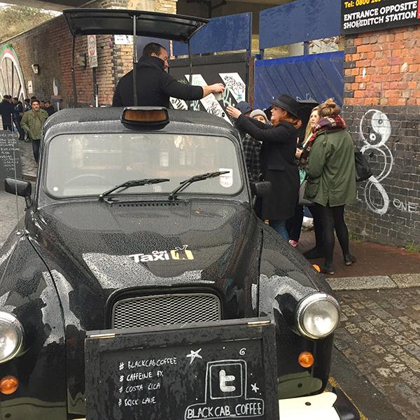 The Black Cab Coffee Londres