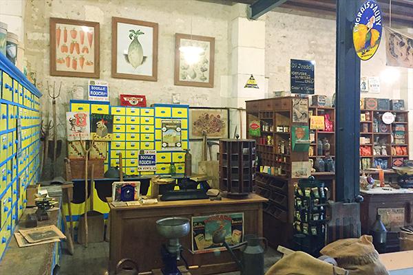 Musée des commerces d'autrefois à Rochefort - Graineterie