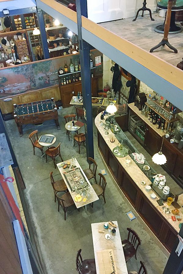 Musée des commerces d'autrefois à Rochefort - Bar