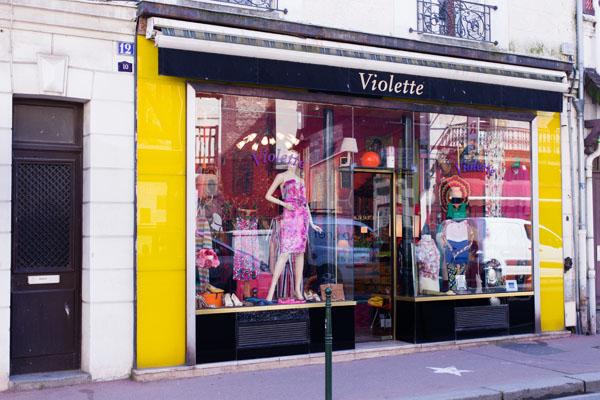 Boutique mode vintage Violette Trouville
