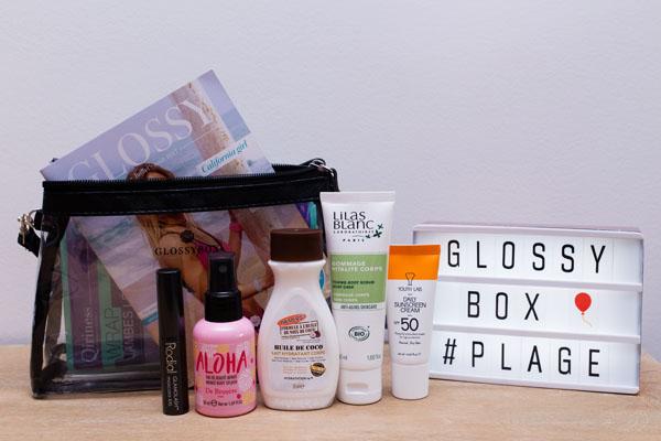 Glossybox beauté juillet 2017