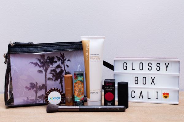 Glossybox beauté août 2017