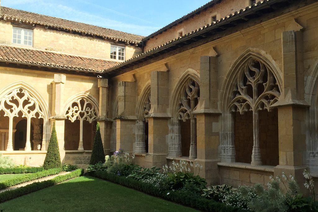 Cloitre de Cadouin en Dordogne